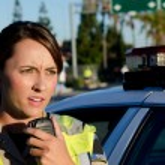 Female police officer — Stock Photo #24713841