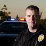 Patrol cop — Stock Photo #24947729