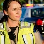Female police officer — Stock Photo #24947969