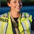 Female police officer — Stock Photo #24948019