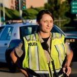 Female police officer — Stock Photo #24948029