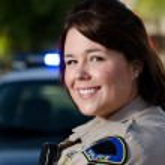 Female police officer — Stock Photo #25086453