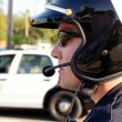 Stock Photo: Motor officer