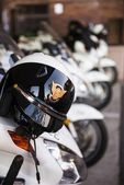 Police Motorcycle — Stock Photo