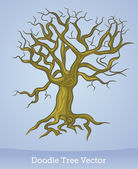 Doodle tree — Stock Vector