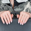 Female hands and nails — Stock Photo