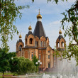 Cathedral in Smolensk region — Stock Photo