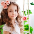 Stock Photo: Portrait of a beautiful girl
