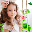 Portrait of a beautiful girl — Stock Photo