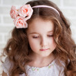 Portrait of a beautiful little girl — Stock Photo #25057661