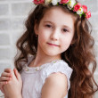 Portrait of a beautiful little girl — Stock Photo #25334191