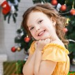 Happy little girl — Stock Photo