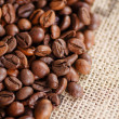 Brown coffee beans — Stock Photo