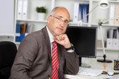 Businessman with problems — Stock Photo