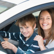Driving lesson — Stock Photo
