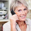 Active senior woman on the telephone — Stock Photo #25896871