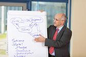 Businessman Explaining Plan — Stock Photo