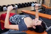 Fitness frau — Stockfoto