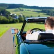 Convertible car — Stock Photo #26035831