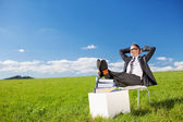 Relaxing man — Stock Photo