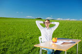 Relaxed man — Stock Photo