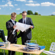 Working businessmen — Stock Photo