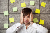 Stressed Businessman — Foto Stock