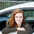 Happy driver — Stock Photo #26088349