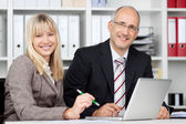 A good team in the office — Stockfoto