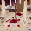 Closeup Of Table Setting — Foto de Stock