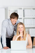 Business-team — Stockfoto