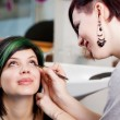 Make-up artist at work — Stock Photo #26262039