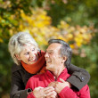 A senior couple enjoying the moment of love — Stock Photo #26290903