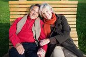 Happy mature couple — Stock Photo