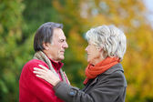 An old couple in love — Stock Photo