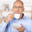 Man with coffee cup — Stock Photo #26377055