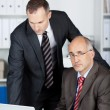 Two confident businessmen — Stock Photo