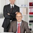 Smiling businessmen — Stock Photo