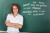 Spanish class — Stock Photo