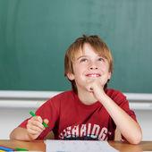 学生の笑みを浮かべてください。 — ストック写真