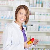 Prescription and medicine — Stock Photo