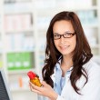 Female pharmacist — Stock Photo