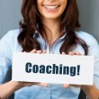 Stock Photo: Coaching