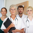 Stock Photo: Doctors Team Together In Clinic