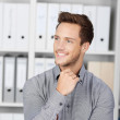 Happy Young Businessman In Office — Stock Photo #26578297
