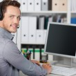 Young Man With Headset — Stock Photo #26578475