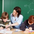 Teaching students — Stock Photo #26589571