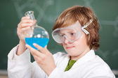 Chemistry experiments — Stock Photo