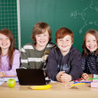 Smart pupils — Stock Photo
