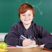 Smiling student — Foto Stock